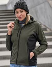 Womens Hooded Lightweight Performance Softshell