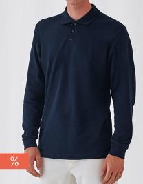 Unisex Polo Safran Long Sleeve